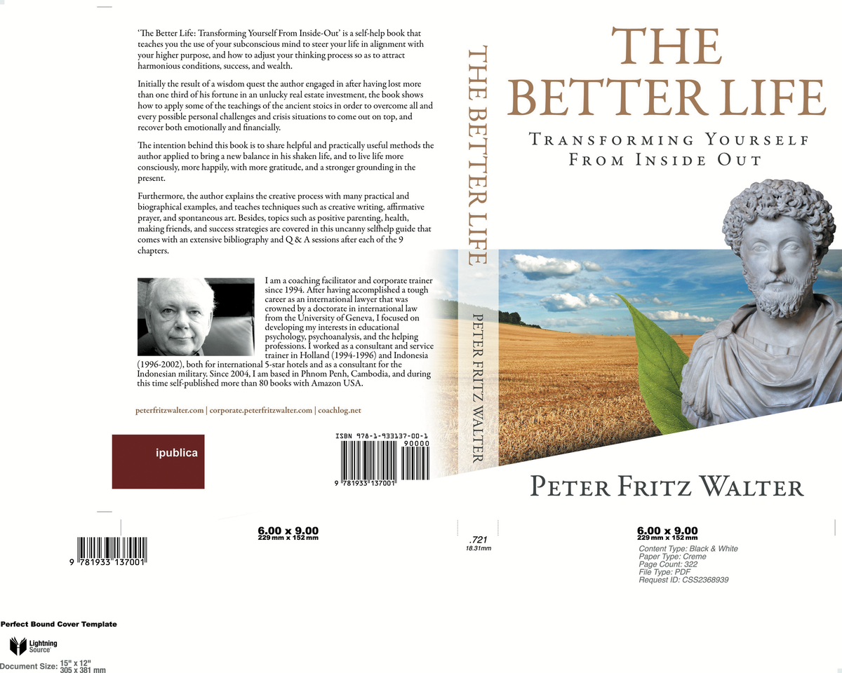 The Better Life (Book and EBook)