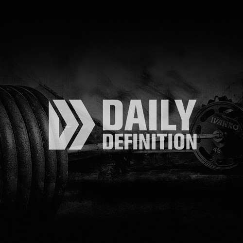 Bold logo concept for Daily Definition