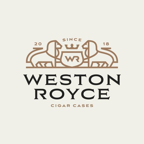 "Luxurious/Mature style Logo ""Weston Royce"""