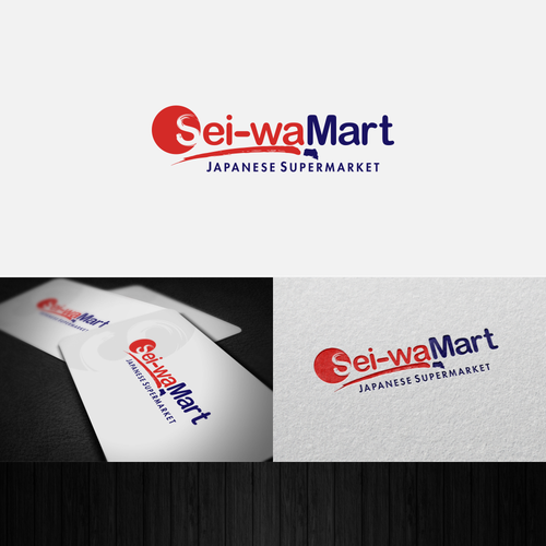 Create a brand new logo for a brand new Japanese supermarket!
