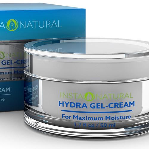 Hydra Gel-Cream 3D Render