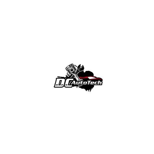 Bold logo for automotive