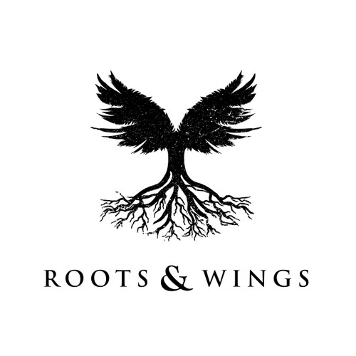 Abstract wings and roots