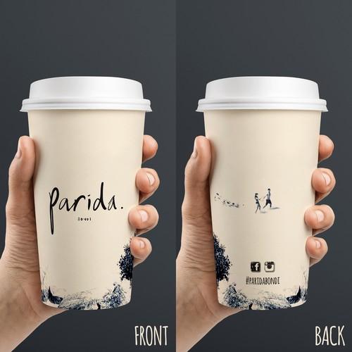 Parida Bondi Coffee Cup