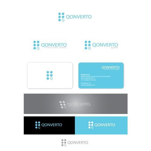 Create the next logo for Qonverto