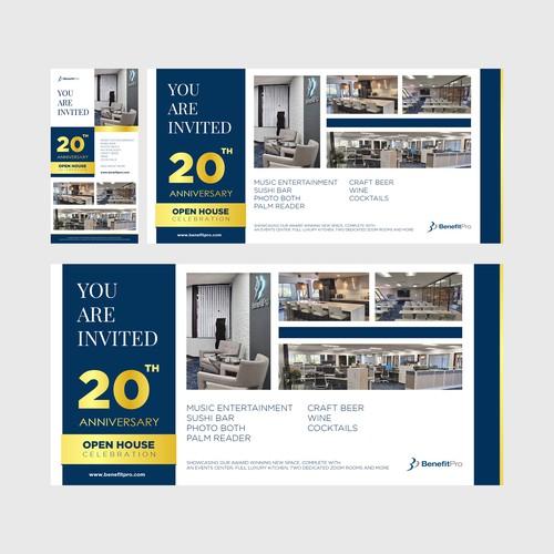 Brochure Invitation
