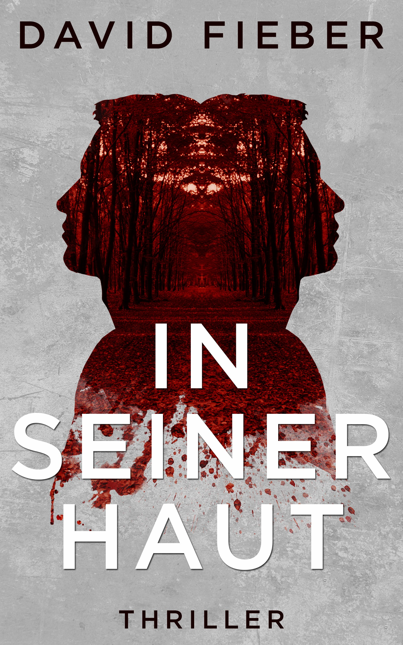 Design a disturbing ebook cover for a nasty thriller