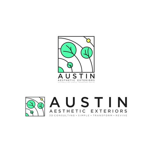 Logo for Austin Aesthetic Exteriors