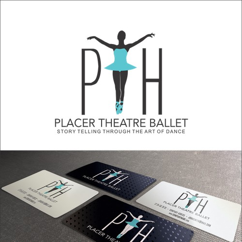 Help Placer Theatre Ballet with a new logo and business card