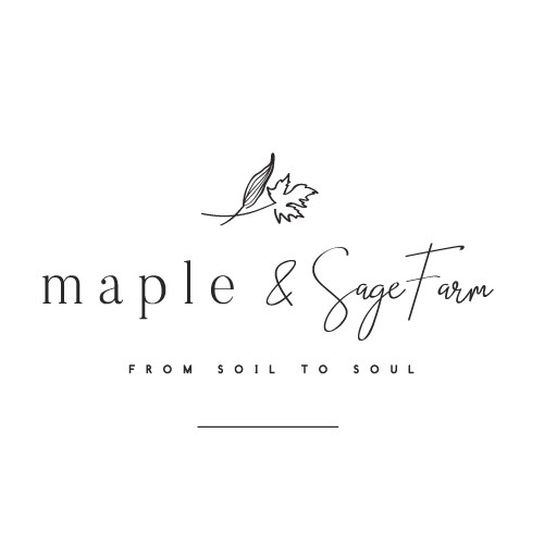 Maple and Sage Farm Logo
