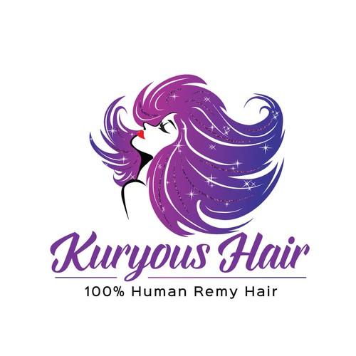 Glamorous Beauty and Hair Logo