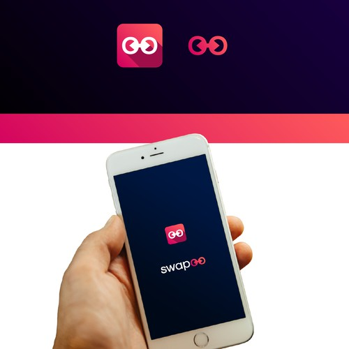 Logo concept for swapoo