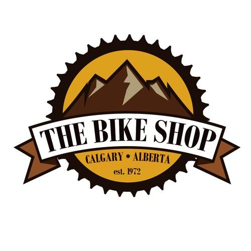 Logo for bike store