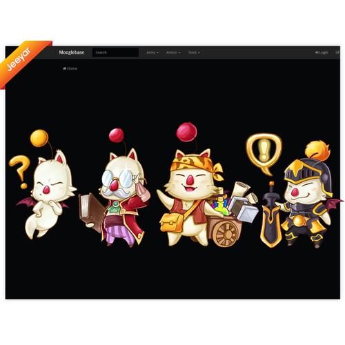 Create a fun, adorable Mascot for Mooglebase