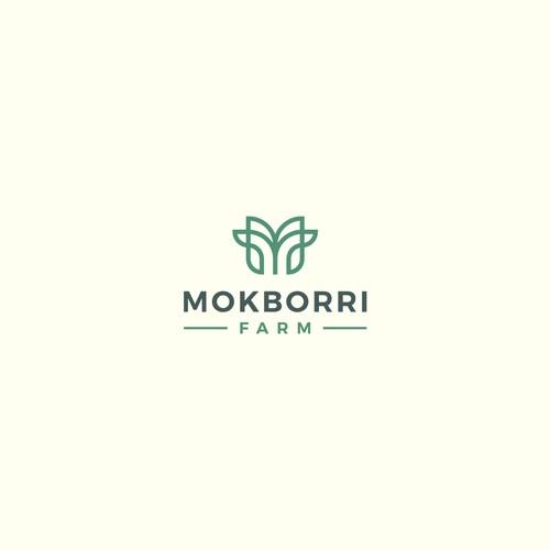 Logo design for Mokborri Farm