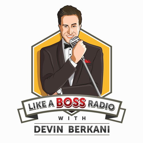 logo concept for devin berkani