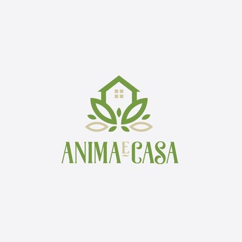 Anima e Casa Logo Design