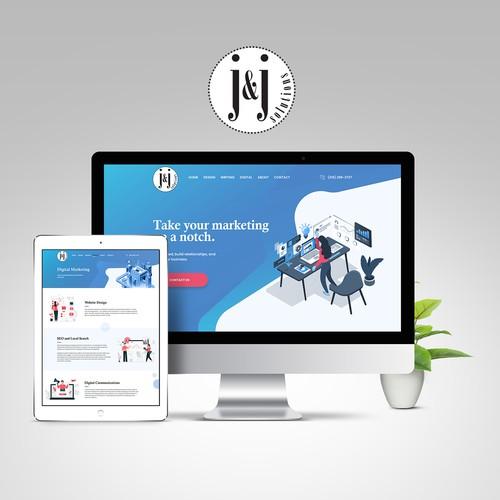 Website Redesign for freelance developer