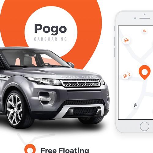 Pogo app – Carsharing service