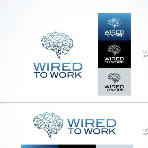 Brain symbol Logo
