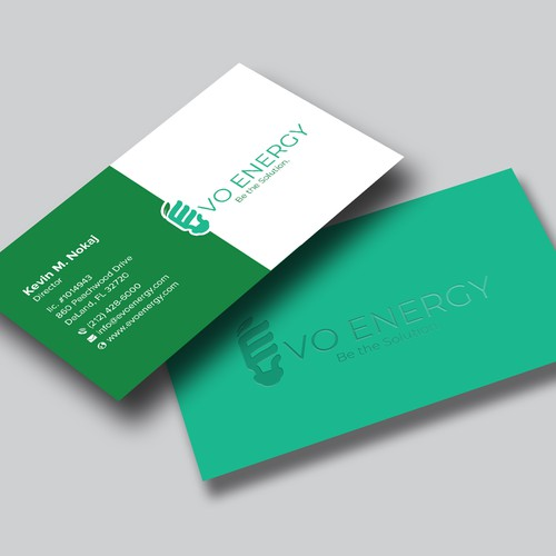 Business Card Design for EVO