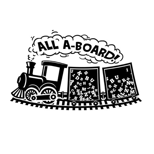 Logo for letter board company