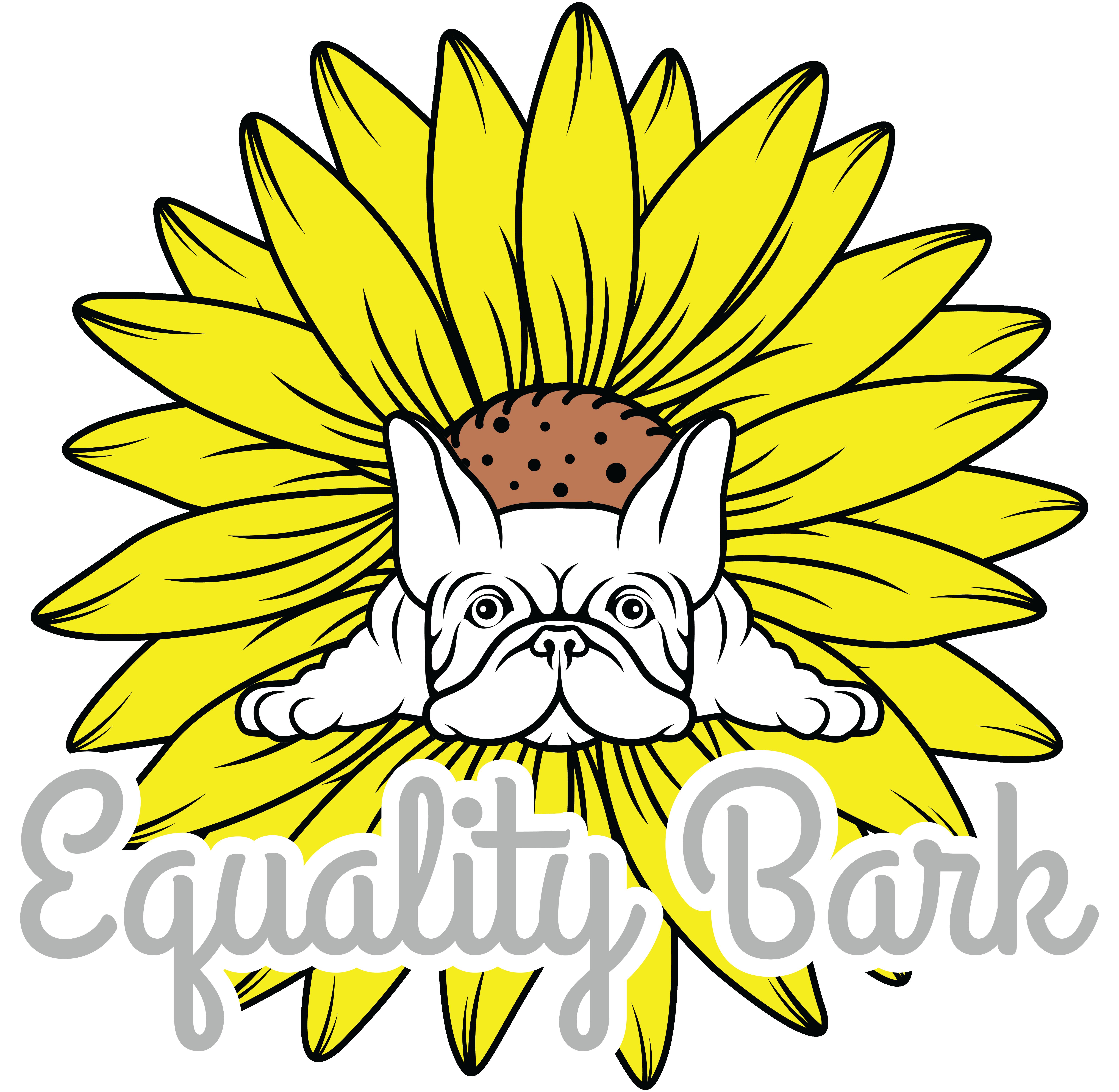 Sunflower and Skull T-Shirt design
