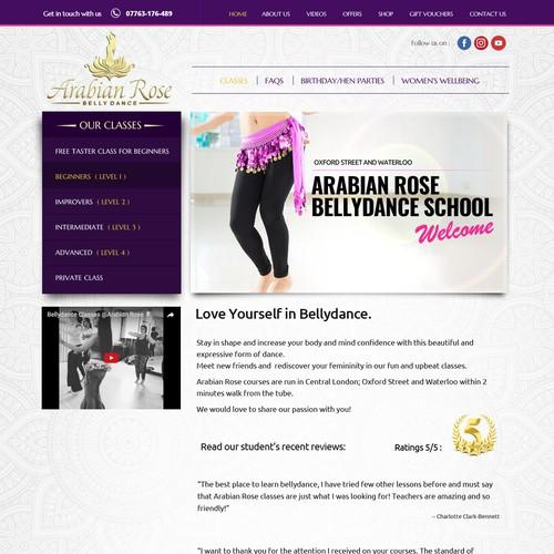 Arabian Rose bellydance studio