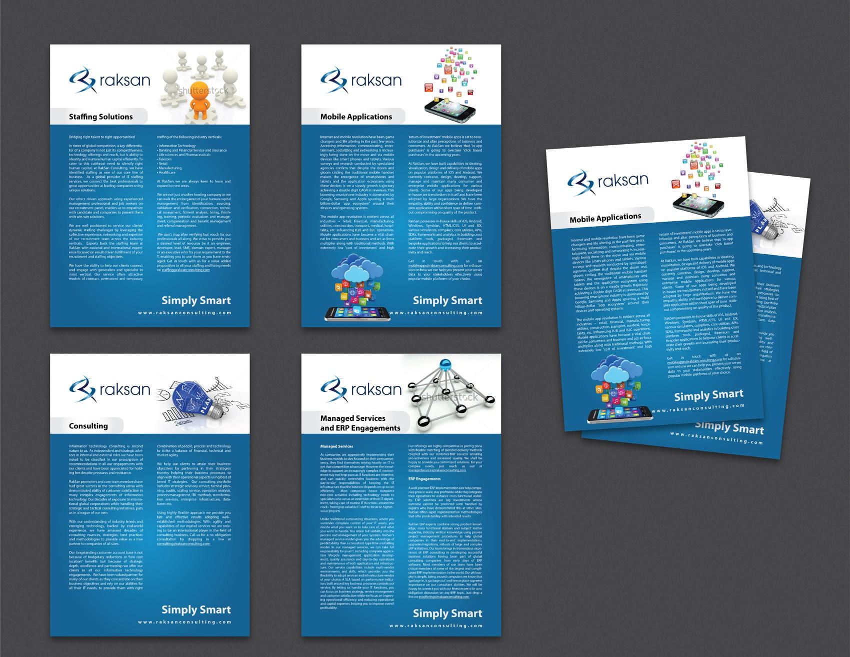 Raksan Consulting needs a new brochure design