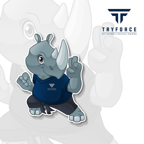 Mascot Design for TRYFORCE