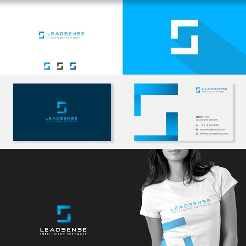 Leadsense - B2B leadgeneration software solution logotype