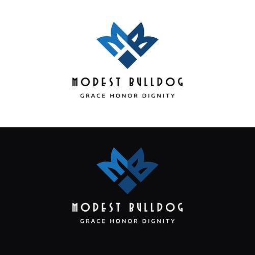 Logo Concept for Modest Bulldog