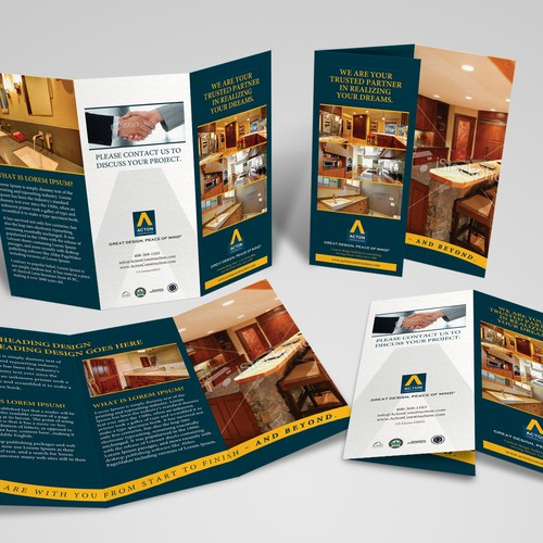 New brochure design wanted for Acton Construction