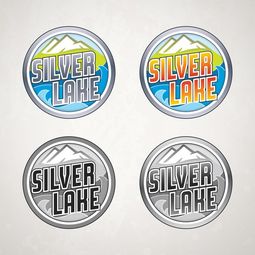 Runner-Up entry for Silver Lake logo design