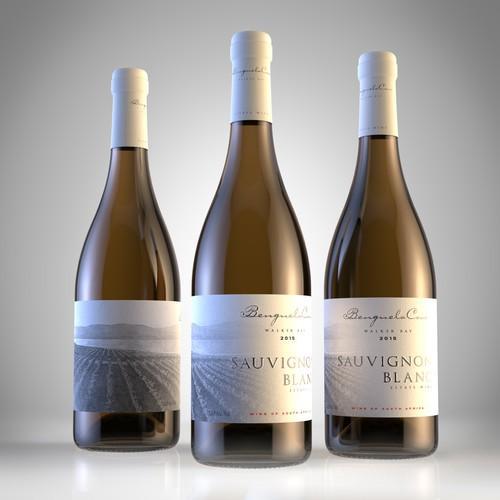 Premium Label design for wine