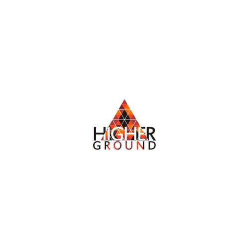 concept logo for higher ground