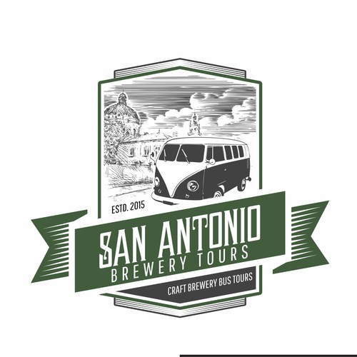 San Antonio Brewery Tours logo suggestion