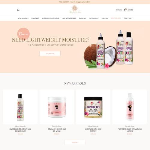 Rosamond - beauty supply online store