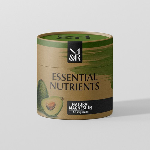 Packaging design for Essential Nutrients