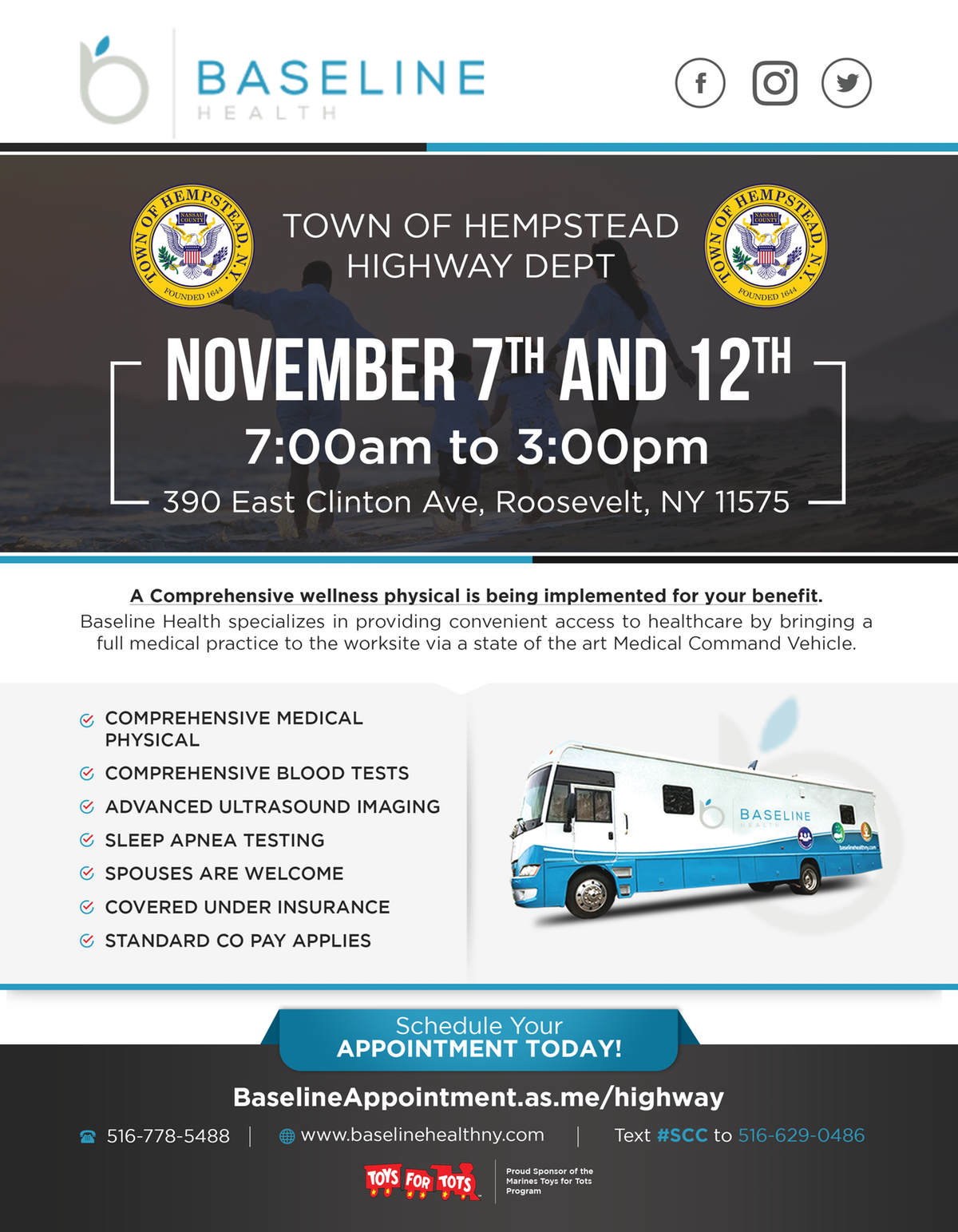 TOH Testing Date Flyer