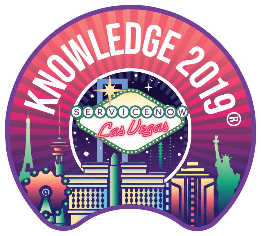 Knowledge 2019 Sticker