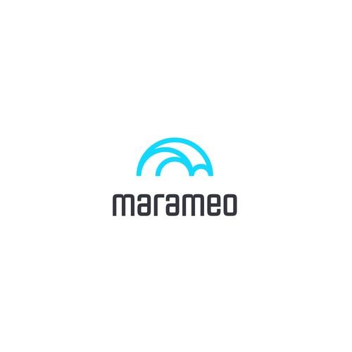 "Modern and Fresh logo for ""marameo"""