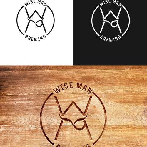Create original Logo for Wise Man Brewing.