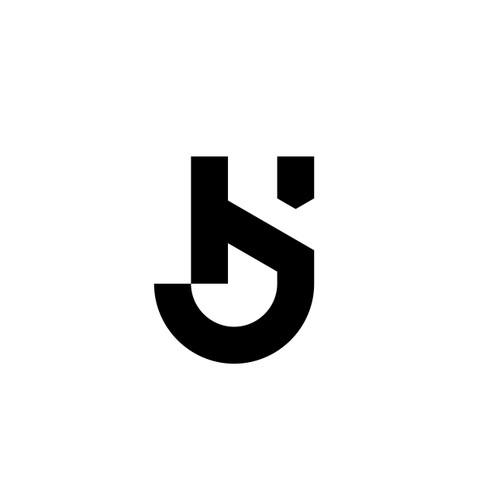 Letter KJ for Katie Jaworski Design