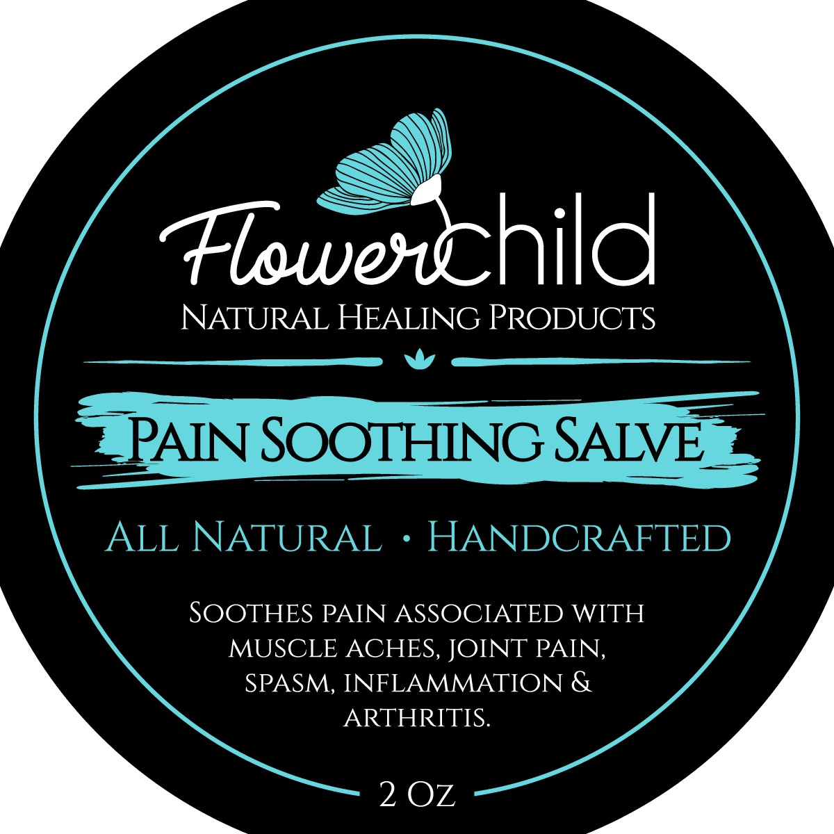 Label Modification - Flower Child