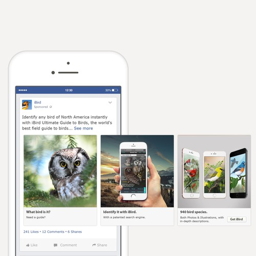 Facebook Carousel Design