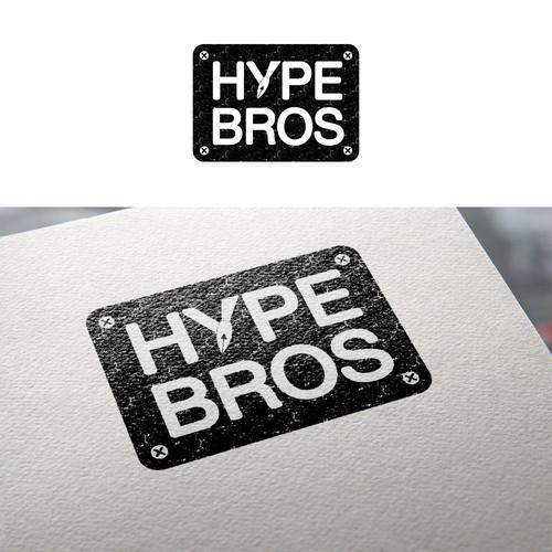 Vintage style logo for marketing blog