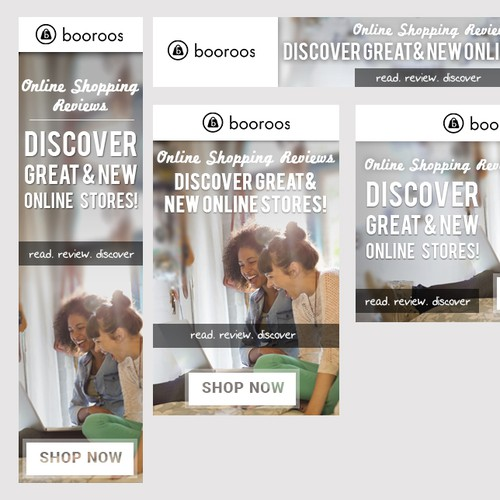 Help create great ads for fashion review site, Booroos!