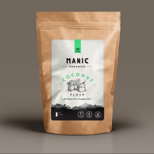 minimal & organic label design