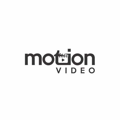 Motion video logo design concept